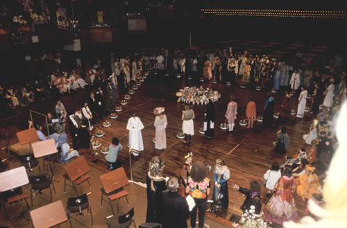"""Festival of 1000 Women"" Frankfurt Opera House, Frankfurt, Germany, 1986"