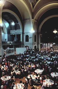 """Dinner for 1000 Women"" Melbourne, Australia, 1988"