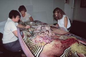 Birth Project review of Birth Trinity in progress with the Teaneck Group, 1983