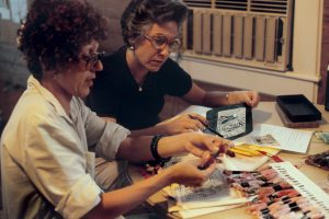 Judy ChicagoBirth Project review with Jean Berens,1981