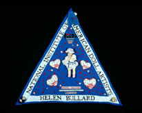 International Honor Quilt: NIADA-National Institute of American Doll Artists, Courtesy Through the Flower archives