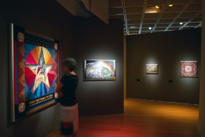 Installation view of the exhibition at the Museum of Arts and Design (formerly American Craft Museum), New York, NY 2000