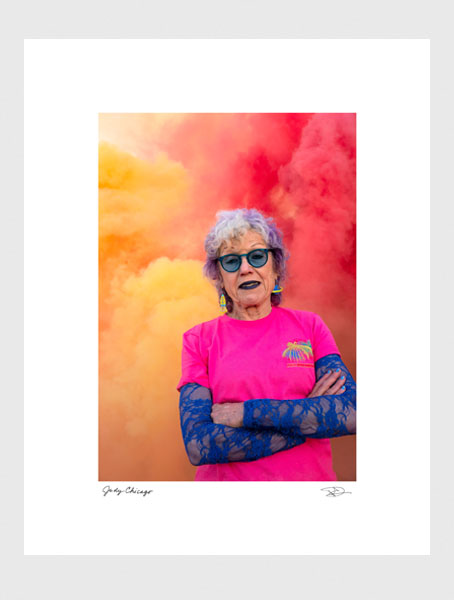 On Fire; Judy Chicago Commemorative Print - Large
