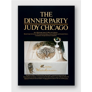 Ann Hutchinson placesetting from The Dinner Party poster