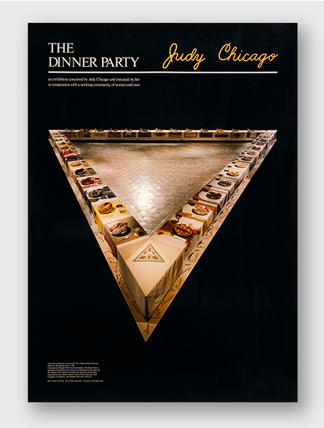 The Dinner Party poster - University of Houston, TX