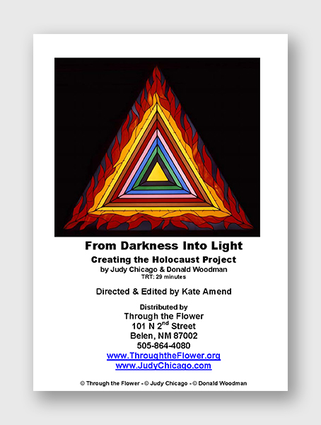 From Darkness into Light: Creating the Holocaust Project, DVD