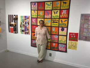 2018 Judy Chicago Art Education Awardee, Melissa Leaym-Fernandez